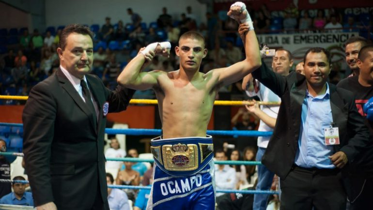 Carlos Ocampo stays busy with seventh-round stoppage of Dario Ferman