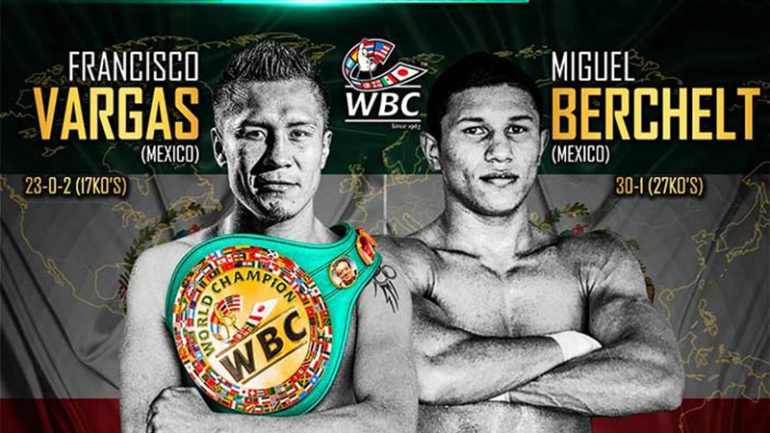 Francisco Vargas believes fight with Berchelt could end early