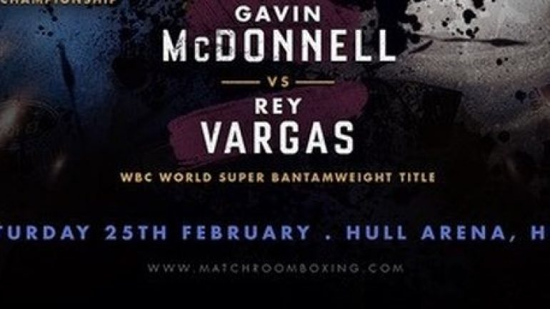 Rey Vargas confident of stopping Gavin McDonnell
