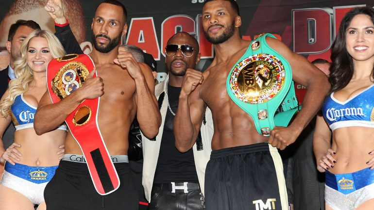James DeGale-Badou Jack weigh-in