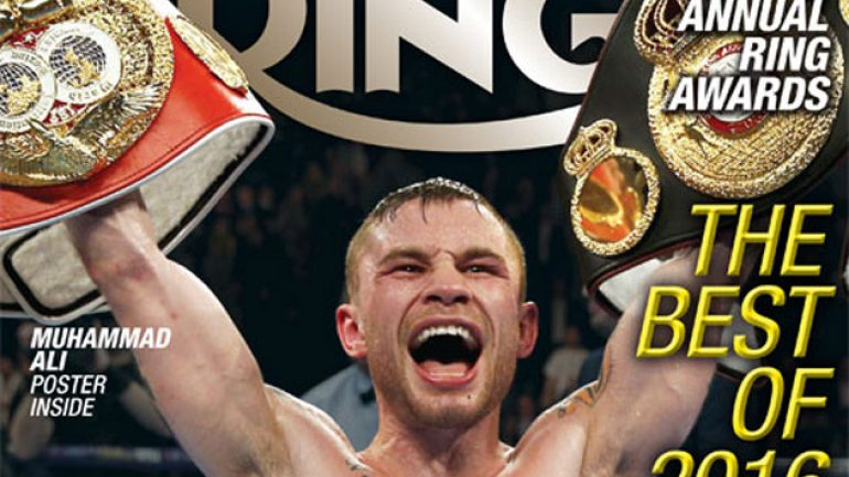 Carl Frampton named 2016 RING Magazine Fighter of the Year