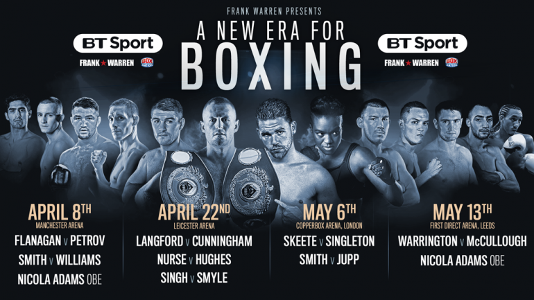 Terry Flanagan to headline huge show in Manchester on April 8