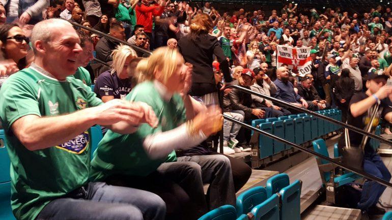 Irish fans make Carl Frampton feel as if he's home