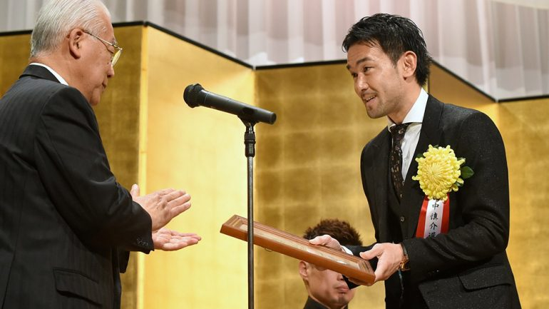 Yamanaka named Japan's Fighter of the Year