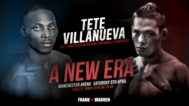 Zolani Tete to face Arthur Villanueva on April 8