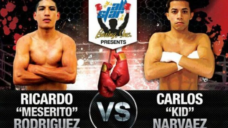 Ricardo Rodriguez and Carlos Narvaez to clash tonight on Telemundo