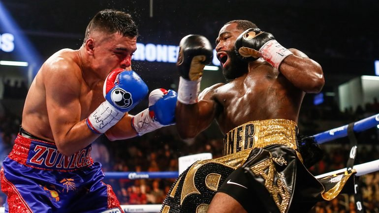 Keith Thurman welcomes Adrien Broner to welterweight division