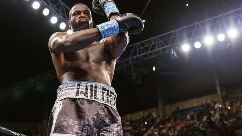 Deontay Wilder-topped show at Barclays Center has not been canceled