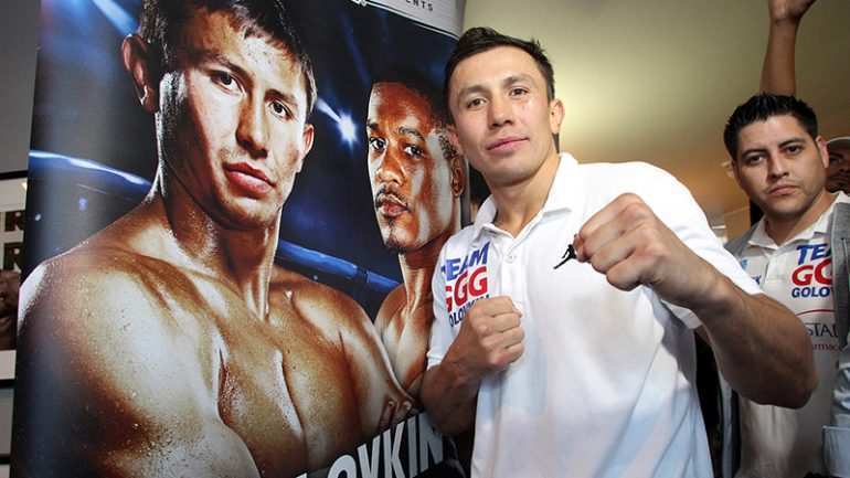 Will Gennady Golovkin watch Canelo vs. Chavez?