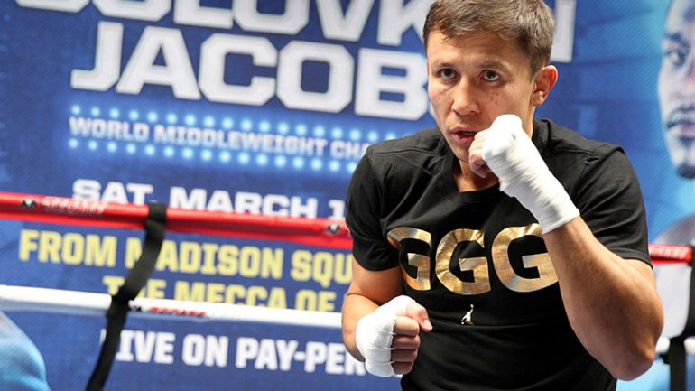 Loeffler says HBO 'Optimistic' on PPV potential of GGG-Jacobs