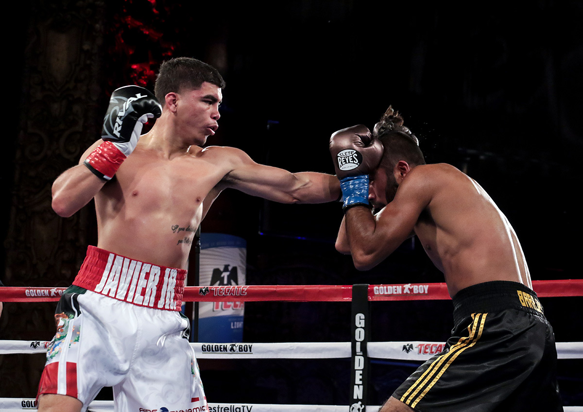 Full Fight Javier Martinez Vs Miguel A Barajas The Ring