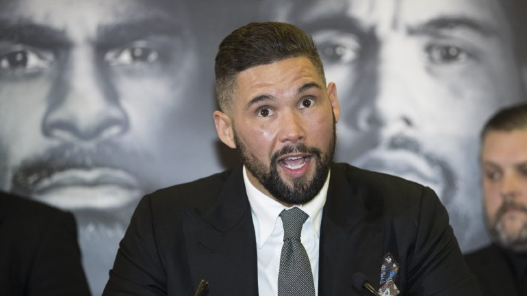 Tony Bellew: 'David Haye can't take clean shots off of anyone'