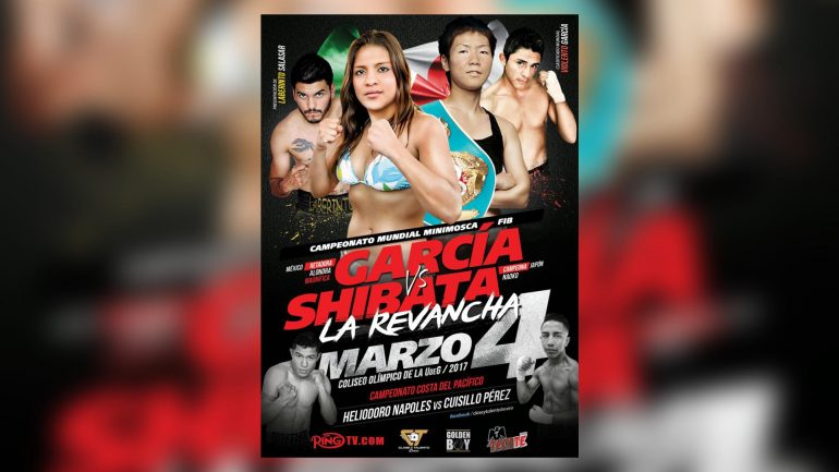 RingTV.com to broadcast Shibata vs. Garcia on March 4