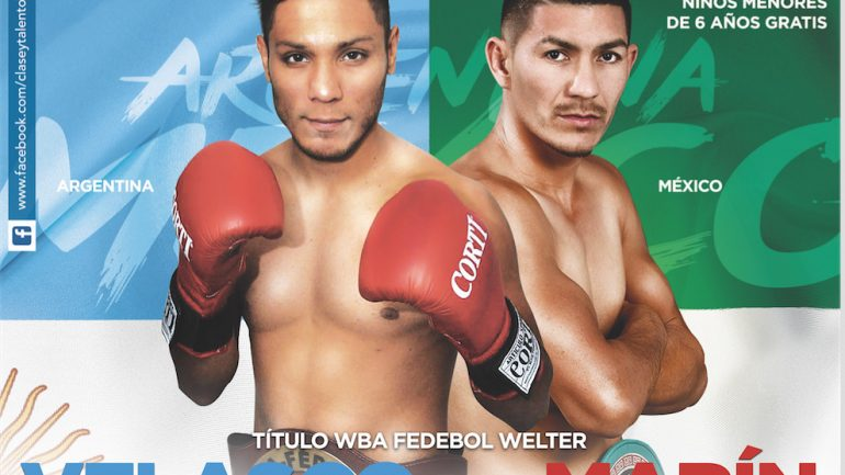 Watch Juan Jose Velasco vs. Fernando Marin live, tonight on RingTV.com