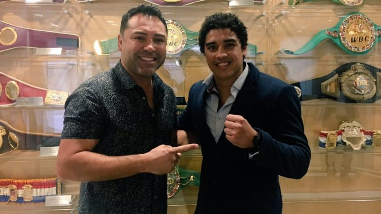 Raul Curiel Garcia signs with Golden Boy Promotions
