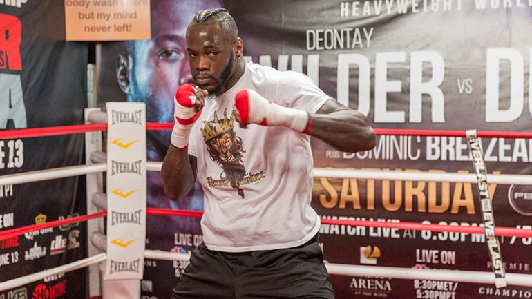 Deontay Wilder KOs Gerald Washington in Round 5