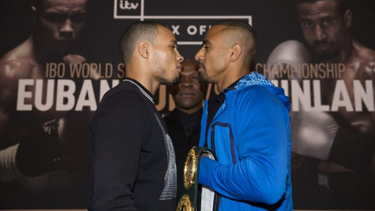 Eubank, Quinlan and the pay-per-view party