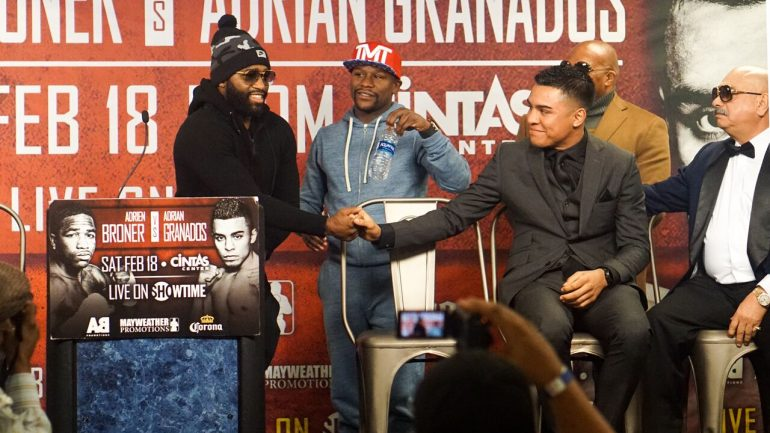 Granados says Broner asked fight to be moved from 142 to 147