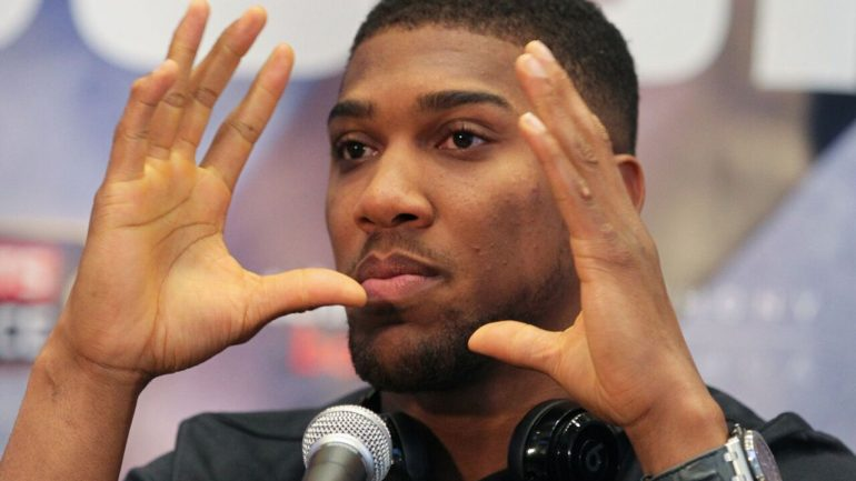 Anthony Joshua wants to make U.S. debut in Las Vegas in 2017