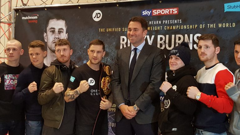 Ricky Burns set for Scotland's first ever unification fight