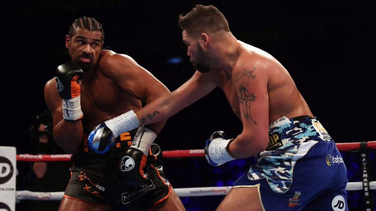 Tony Bellew ponders Wilder and Parker options