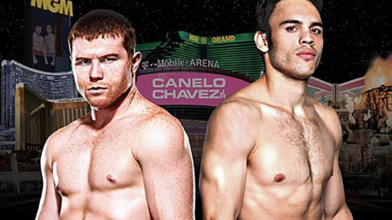 Canelo Alvarez vs. Julio Cesar Chavez Jr. to run in U.S. cinemas