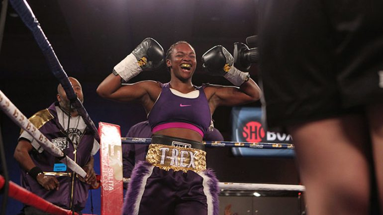 Claressa Shields earns title shot in fourth pro fight on August 4