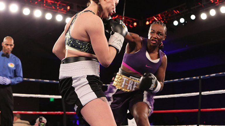 Claressa Shields dominates in homecoming win on Showtime