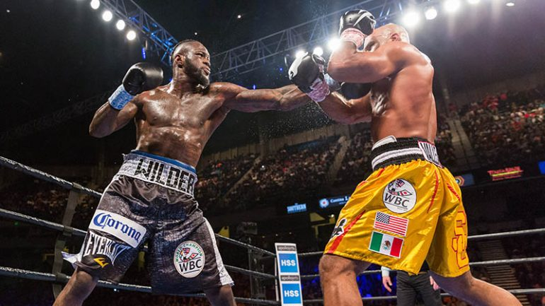Deontay Wilder offers himself as replacement to face Parker