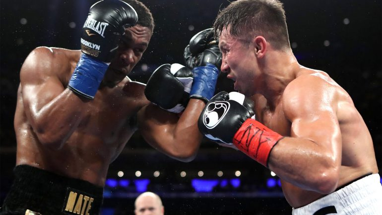 Golovkin wins close decision against resilient Jacobs