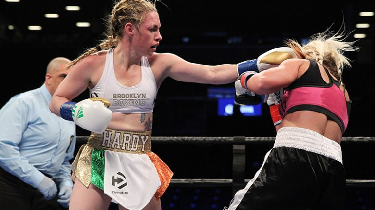 Heather Hardy to make MMA debut on Saturday night