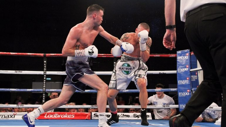 Josh Taylor stops Warren Joubert in six