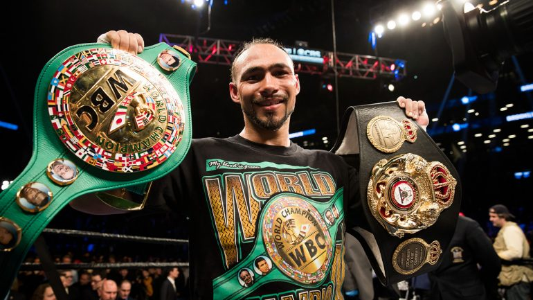 Keith Thurman shoots for a late-February/early-March 2018 return
