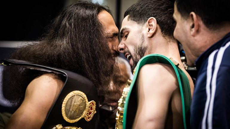 Keith Thurman-Danny Garcia weigh-in