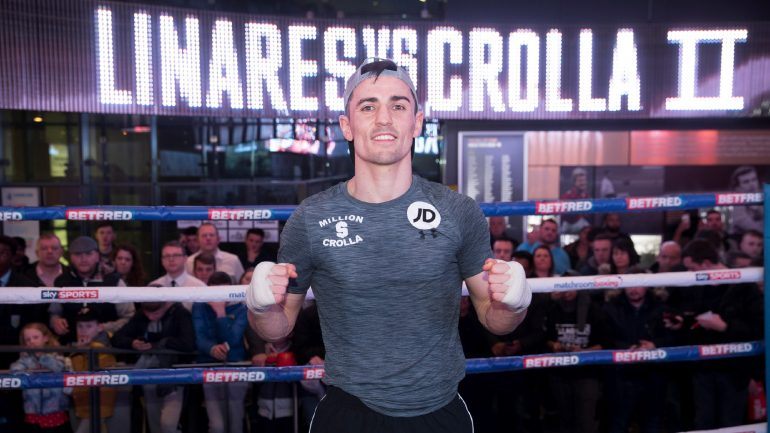 Anthony Crolla: 'Stylistically, Oscar Valdez is the champion I would pick for Scott Quigg'