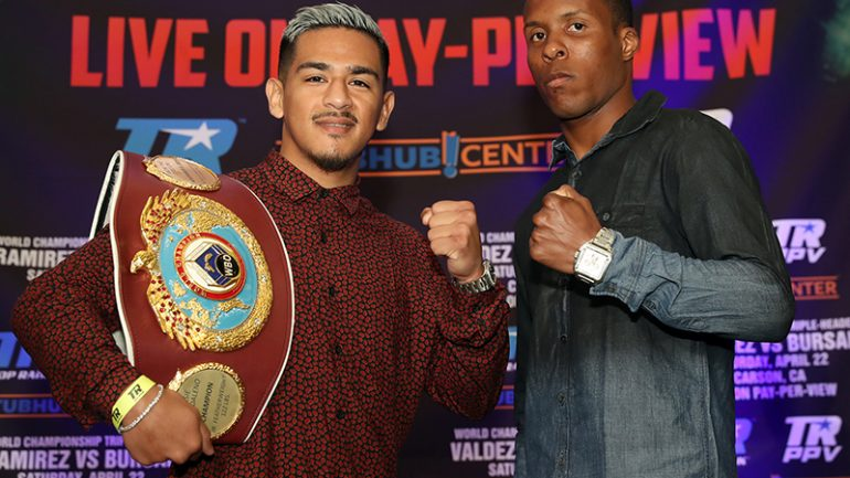Jessie Magdaleno stops Adeilson Dos Santos in two