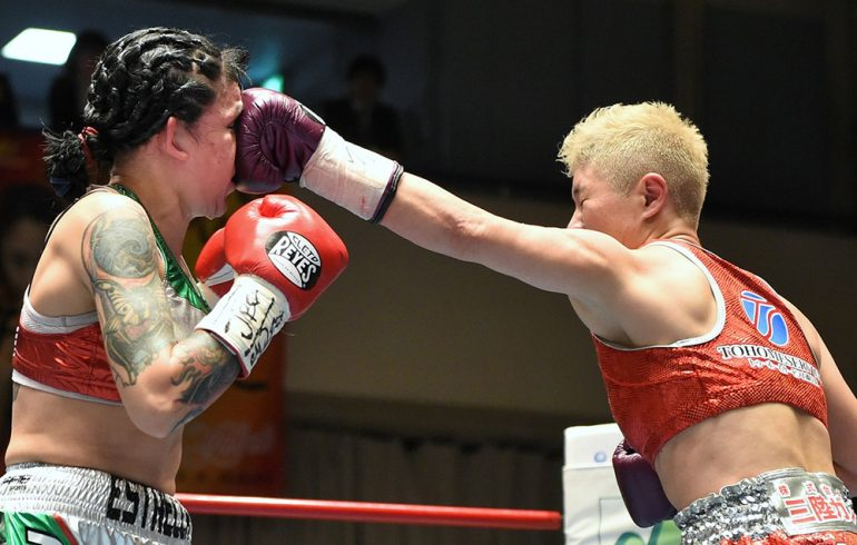 The Fujioka Isabel vs. Millan Naoko Ring -