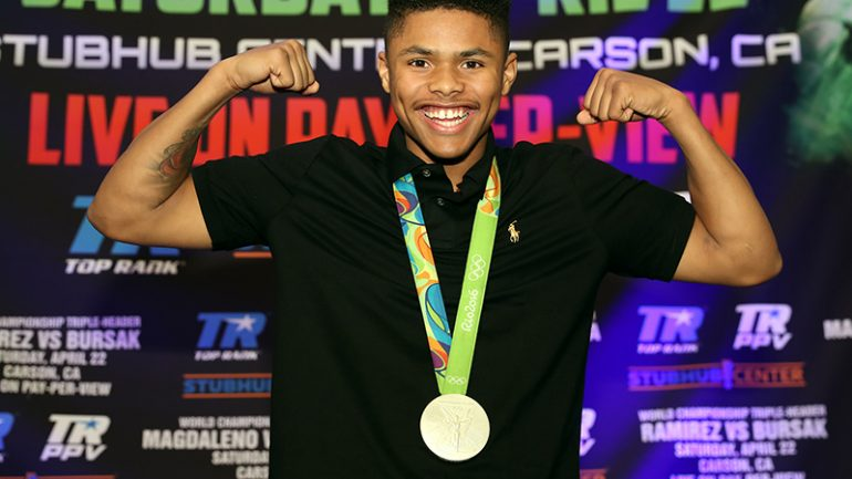 Shakur Stevenson: 'I can't wait for my pro debut'