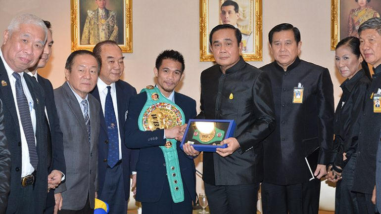 Srisaket Sor Rungvisai meets with Thai PM after life-changing win