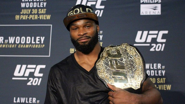 Tyron Woodley: Focused on being an MMA great, not race issues