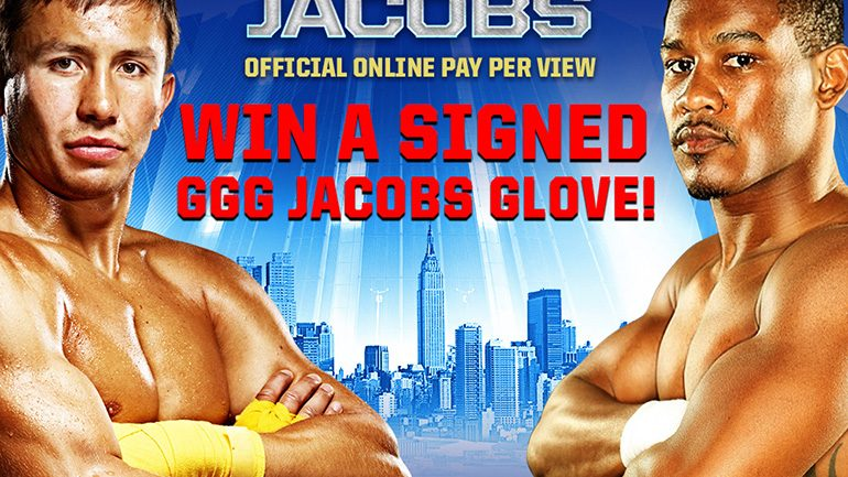 Golovkin Jacobs Giveaway!