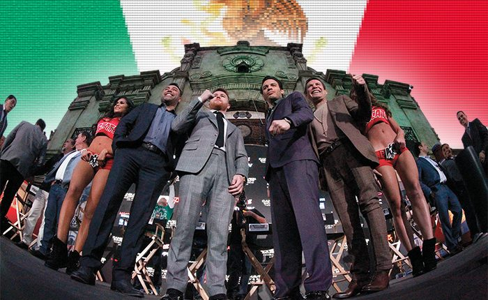 For Love of Mexico The Fight for Mexico: National Pride Is A Source Of Motivation