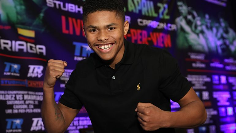 Shakur Stevenson: 'I want all the champions, but first, I have to beat Christopher Diaz'