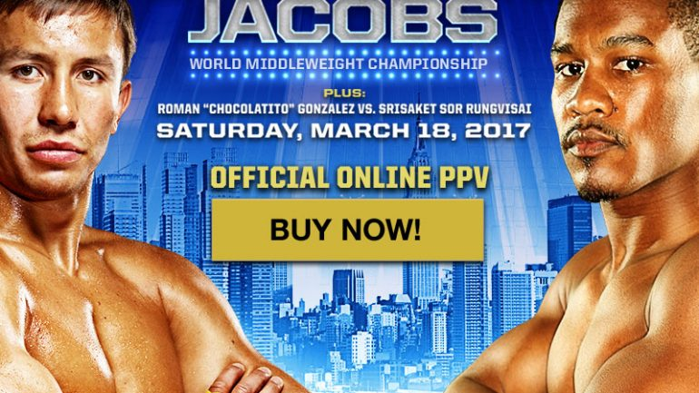 RingTV.com to host official online Golovkin-Jacobs pay-per-view show