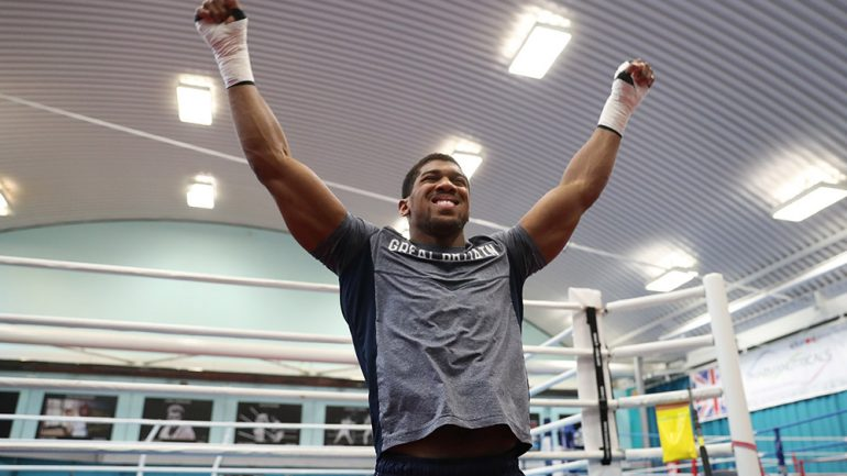 Eric Molina: 'Anthony Joshua can win, between rounds six and nine'