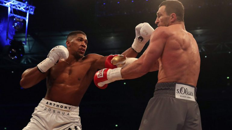 Anthony Joshua could return in November