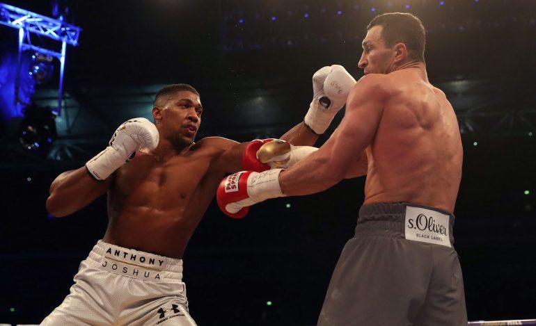 Anthony Joshua stops Wladimir Klitschko in 11th round - The Ring