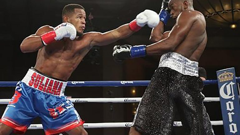 Sullivan Barrera stays busy with TKO of Paul Parker
