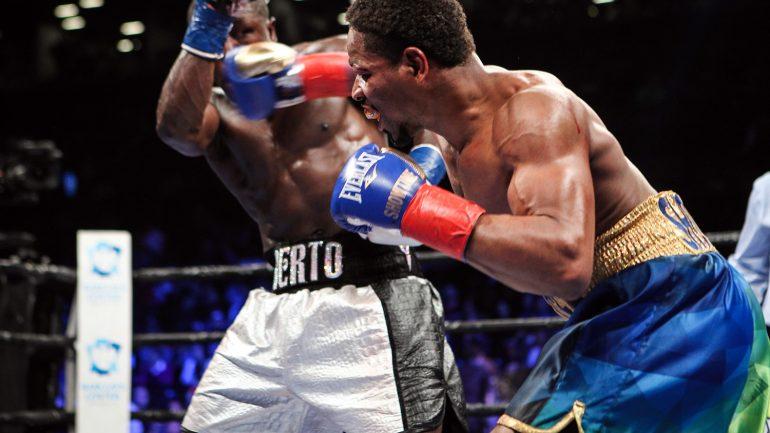 Porter batters Berto, stops him in ninth in WBC title eliminator