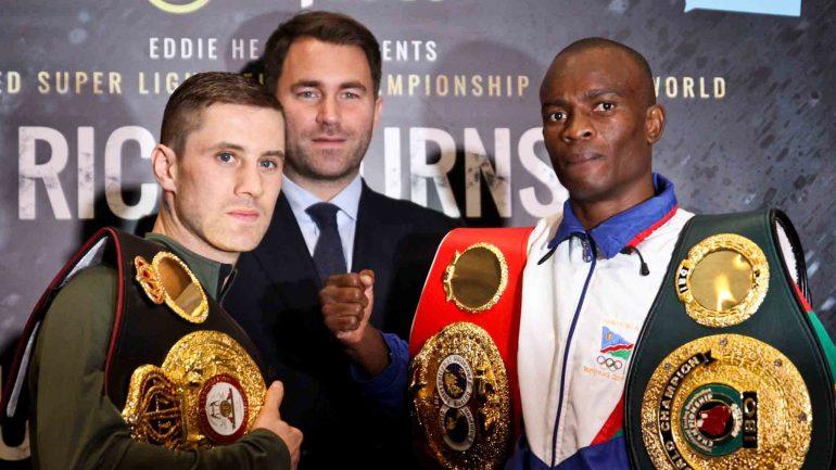 Julius Indongo dominates Ricky Burns to unanimous decision